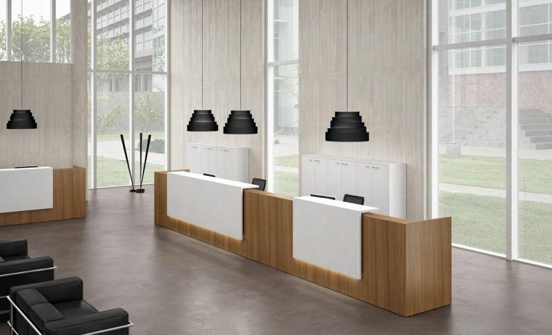 Bancone Reception Per Ufficio : Arredamento per ufficio online bancone reception z
