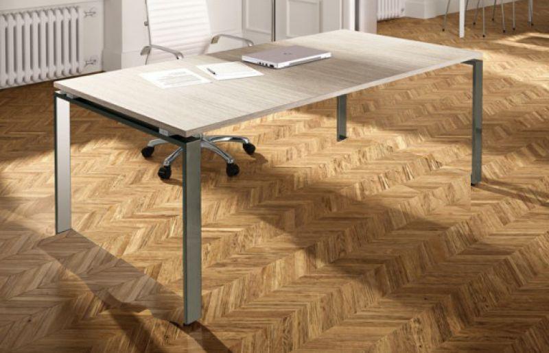 Scrivania Ufficio Grigio : Arredamento per ufficio online scrivania loft p80